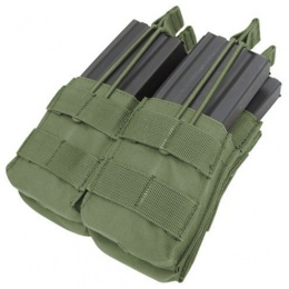 Condor Outdoor MOLLE Open-Top Double Stacker M4 Magazine Pouch - OD