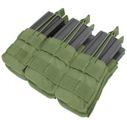 Condor Outdoor MOLLE Open-Top Triple Stacker M4 Magazine Pouch - OD