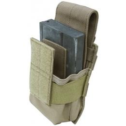 Condor Outdoor Tactical MOLLE M14 Magazine Pouch - TAN