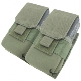 Condor Outdoor Tactical MOLLE Double M14 Magazine Pouch - OD