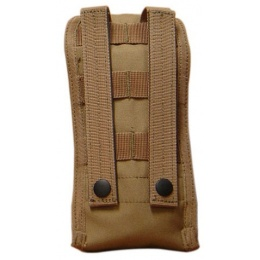 Condor Outdoor Tactical MOLLE Radio Pouch - TAN