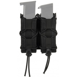 High Speed Gear Polymer Double Pistol TACO® Magazine Pouch - BLACK