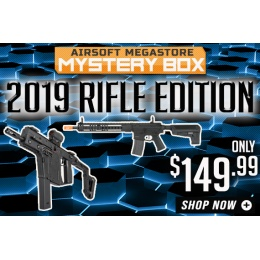 Airsoft Megastore NEW YEAR Mystery Box 2019 - Rifle Edition