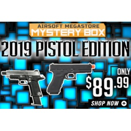 Airsoft Megastore NEW YEAR Mystery Box 2019 - Pistol Edition
