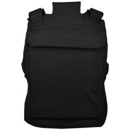 Lancer Tactical Airsoft Adjustable American Body Armor [Nylon] - BLACK