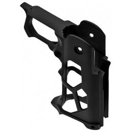 Nine Ball 3D-Printed Skeletonized Grip Mod R for Hi-Capa Airsoft GBB Pistols - BLACK
