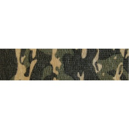 ASG Camouflage Stretch Adhesive Wrap - WOODLAND