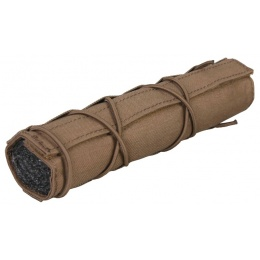Emerson Gear Cordura 22cm Mock Airsoft Suppressor Cover - COYOTE BROWN