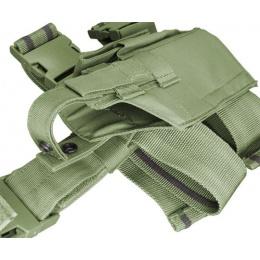 Condor Outdoor Tactical Drop Leg Holster - OD