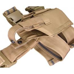 Condor Outdoor Tactical Drop Leg Holster - TAN