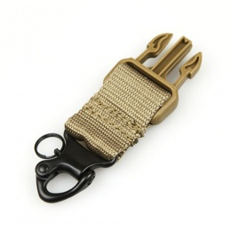 Condor Outdoor Tactical Snap Hook Shackle Sling Upgrade Kit - TAN