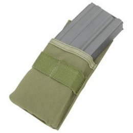 Condor Outdoor Hook and Loop M4 Single Magazine Pouch - OD GREEN