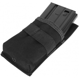 Condor Outdoor Tactical Hook and Loop M4 Single Magazine Pouch - BLACK
