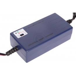 Universal Premium Battery Smart Charger - Fast Charging Speed