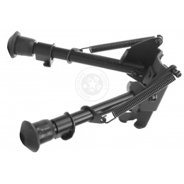 SRC Full Metal Heavy Duty Spring-Loaded Universal Airsoft Bipod