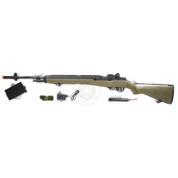 Lancer Tactical LT-732G M14 Fully Automatic AEG Rifle - OD GREEN