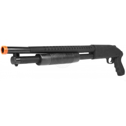 Airsoft TacForce Sawed-Off Combat CQB Shotgun - Black