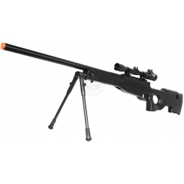 DE Airsoft Shadow Ops MK96 Bolt Action Sniper Rifle w/ Bipod and Scope