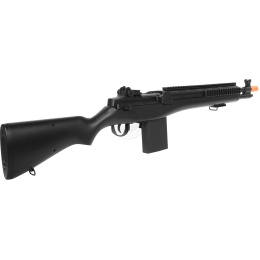 DE Airsoft M14 RIS Fully Automatic Electric AEG Rifle w/ Rail System