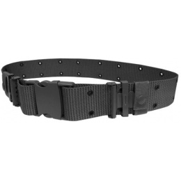 AMA Combat Utility Belt w/ Adjustable Straps - BLACK
