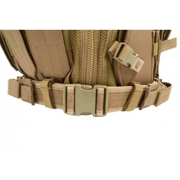 AMA Airsoft V2 Cross-Draw Military Vest w/ Tactical Belt - TAN