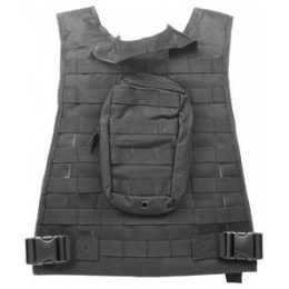 AMA Airsoft MOLLE High Speed  Plate Carrier - BLACK