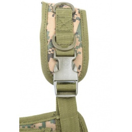 AMA Airsoft MOLLE Plate Carrier - DIGITAL WOODLAND