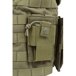 AMA Airsoft MOLLE Strikeforce 1000D RRV Chest Rig - OLIVE DRAB