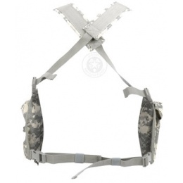 AMA 600D Contruction Lightweight Airsoft Chest Rig - ACU