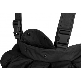 AMA 600D Magazine Chest Rig - BLACK