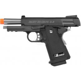 WE Tech Full Metal 3.8 Baby Hi-Capa Gas Blowback Airsoft Pistol