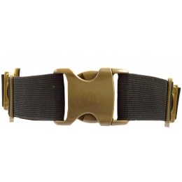 G-Force Airsoft Full Face Mask w/ Fan Powered Ventilation - TAN