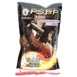 0.25g G&G Armament Seamless 6mm Airsoft BBs - 1000rd BAG