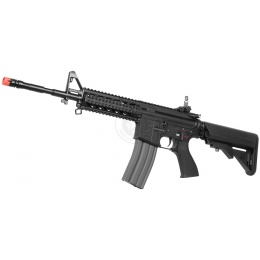 G&G Metal GC16 M4 RIS Raider Airsoft AEG Rifle (High Velocity) - BLACK