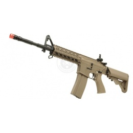 G&G Metal GC16 M4 RIS Raider Airsoft AEG Rifle (High Velocity) - TAN