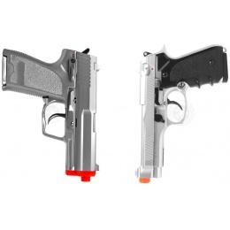 Airsoft Dual Pistol Package: 1X HFC M9 Pistol + One STTI G8 Pistol