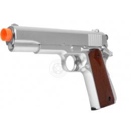 HFC Heavy 1911 Gas Repeater Pistol - Silver
