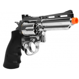 HFC .357 Style Gas Non Blowback Airsoft Compact Revolver - SILVER