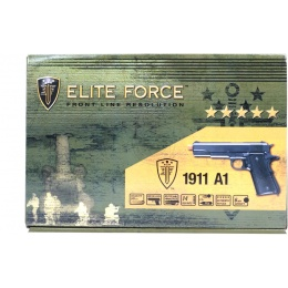 Elite Force Full Metal M1911 A1 WWII Airsoft CO2 Blowback Pistol - BLK