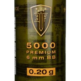 0.20G Elite Force Precision 6mm Seamless BBs - 5000rd Bottle