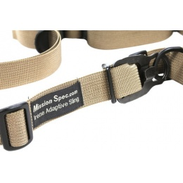 Mission Spec Irene Adaptive Sling 2-Point Conversion Sling - TAN
