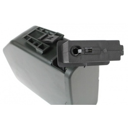 A&K 2500rd M249 Auto-Winding Airsoft High Capacity Box Magazine