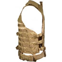 NcStar MOLLE / PALS Modular Tactical Vest - TAN