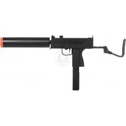 HFC Metal Full Auto MAC 11 Gas Blowback SMG TSD w/ Mock Suppressor