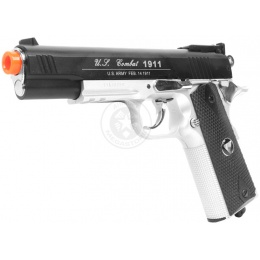 TSD M1911 Tactical-601 Airsoft CO2 Blowback Pistol - TWO-TONE