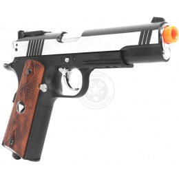 450 FPS TSD M1911 HardKick CO2 Blowback Airsoft Pistol w/ Metal Slide