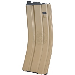 WE Tech FN Herstal 30rd SCAR MK16-L Airsoft CO2 Magazine - TAN