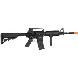 SRC Airsoft Full Metal M4 RIS AEG Rifle w/ Retractable Crane Stock