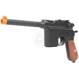 Galaxy Ultra-Grade Full Metal WWII C96 Broomhandle Pistol Airsoft Gun - WWI/WWII Collector's Item