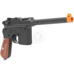 Galaxy Ultra-Grade Full Metal WWII C96 Broomhandle Pistol Airsoft Gun - WWI/WWII Collector's Item